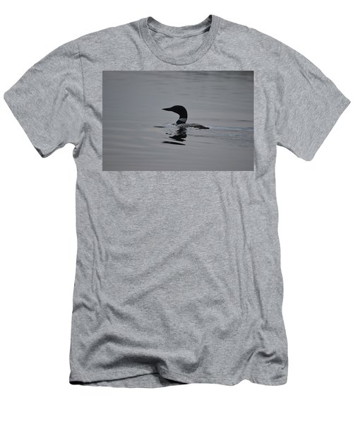 Common Loon Men's T-Shirt (Slim Fit) by James Petersen