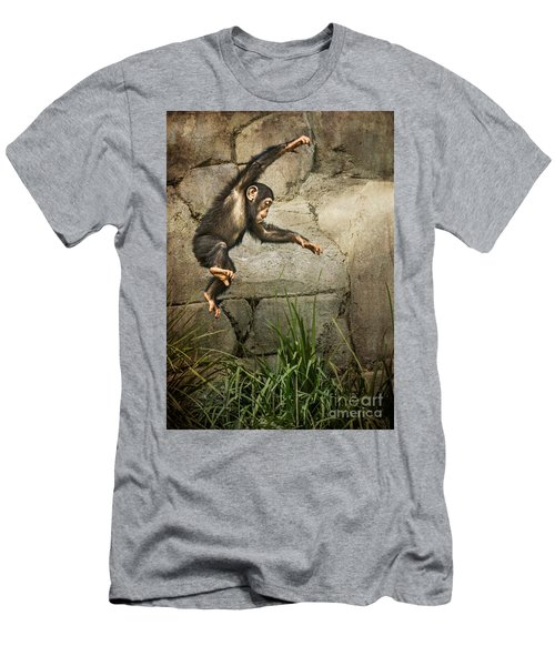 Jump For Joy Men's T-Shirt (Slim Fit) by Jamie Pham