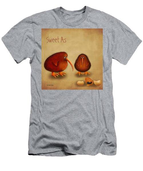 New Arrival. Kiwi Bird - Sweet As - Boy Men's T-Shirt (Slim Fit) by Marlene Watson
