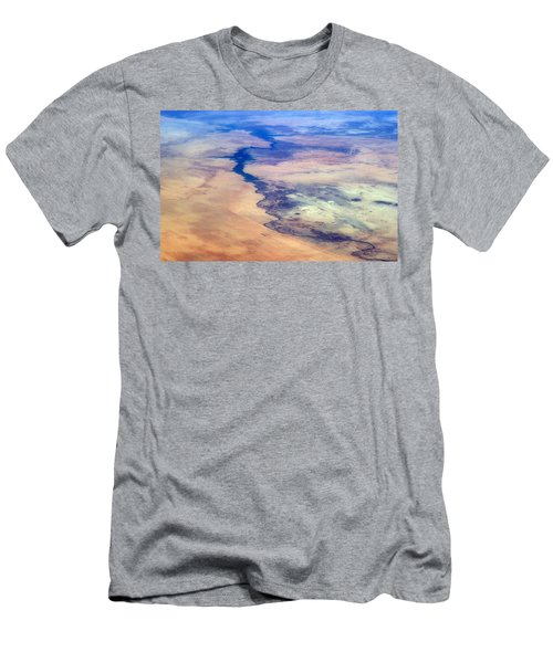 Men's T-Shirt (Slim Fit) featuring the photograph Nile River From The Iss by Science Source
