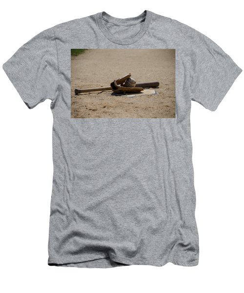 Softball Men's T-Shirt (Slim Fit) by Bill Cannon