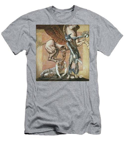 The Death Of Medusa I, C.1876 Men's T-Shirt (Slim Fit) by Sir Edward Coley Burne-Jones