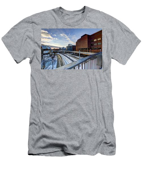 University Of Minnesota Men's T-Shirt (Slim Fit) by Amanda Stadther