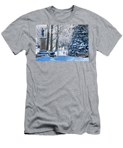 Whitehouse Village Park  7360 Men's T-Shirt (Slim Fit) by Jack Schultz