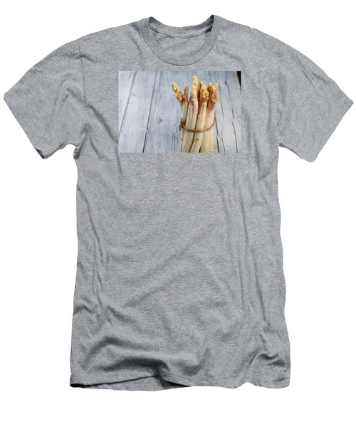 Asparagus Men's T-Shirt (Slim Fit) by Nailia Schwarz