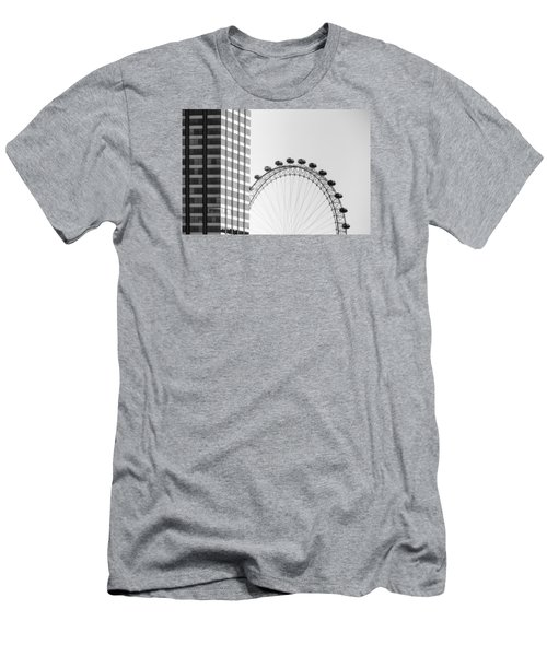 London Eye Men's T-Shirt (Slim Fit) by Joana Kruse