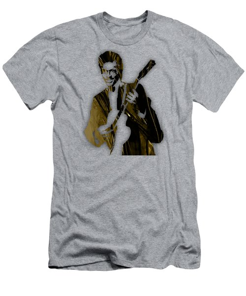 Chuck Berry Collection Men's T-Shirt (Slim Fit) by Marvin Blaine