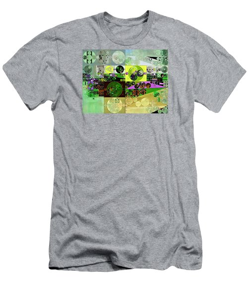 Abstract Painting - Black Bean Men's T-Shirt (Slim Fit) by Vitaliy Gladkiy