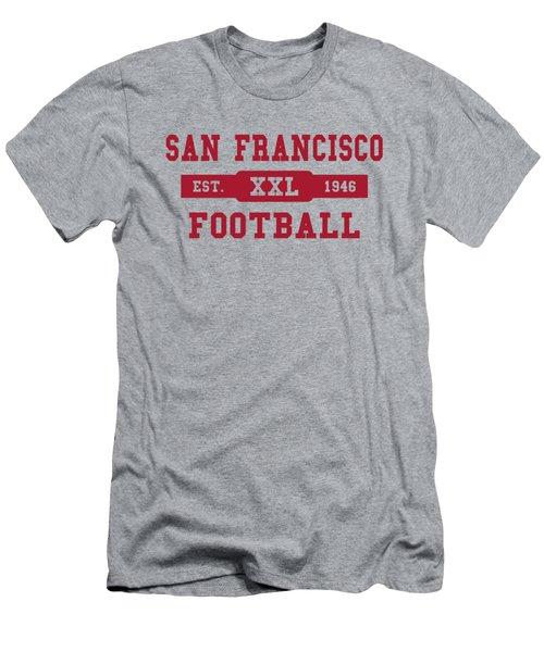 49ers Retro Shirt Men's T-Shirt (Slim Fit) by Joe Hamilton
