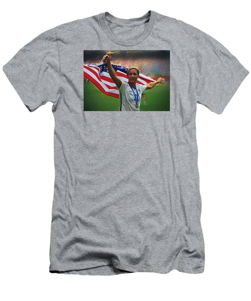 Abby Wambach Us Soccer Men's T-Shirt (Slim Fit) by Semih Yurdabak