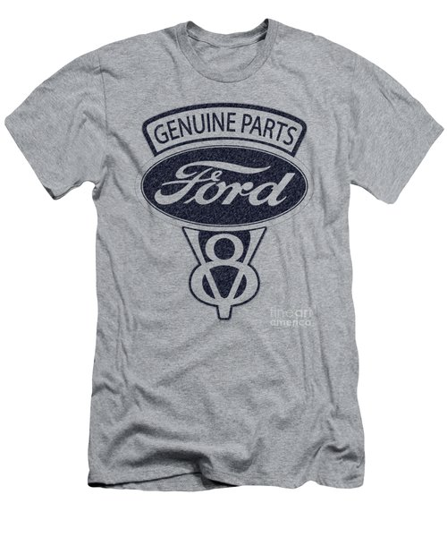 Ford V8 Men's T-Shirt (Slim Fit) by Mark Rogan