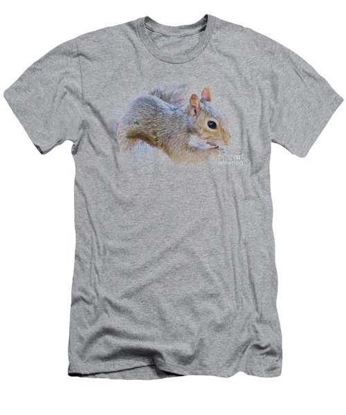Another Peanut Please - Squirrel - Nature Men's T-Shirt (Slim Fit) by Barry Jones