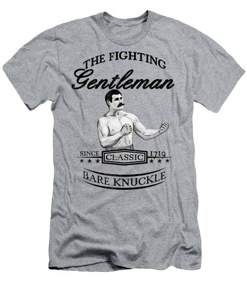 The Fighting Gentlemen Men's T-Shirt (Slim Fit) by Nicklas Gustafsson