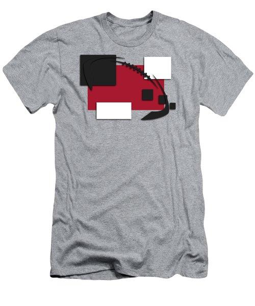 Atlanta Falcons Abstract Shirt Men's T-Shirt (Slim Fit) by Joe Hamilton