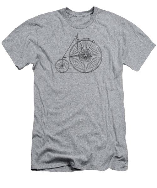 Bicycle 1885 Men's T-Shirt (Slim Fit) by Mark Rogan