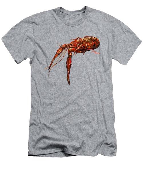 Big Red Men's T-Shirt (Slim Fit) by Dianne Parks