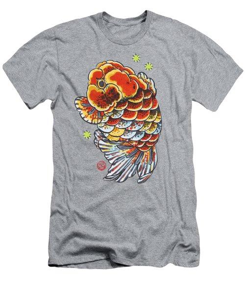 Calico Ranchu Men's T-Shirt (Slim Fit) by Shih Chang Yang