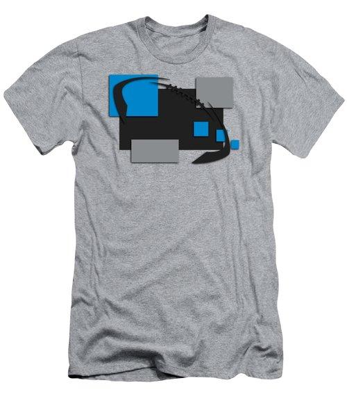 Carolina Panthers Abstract Shirt Men's T-Shirt (Slim Fit) by Joe Hamilton