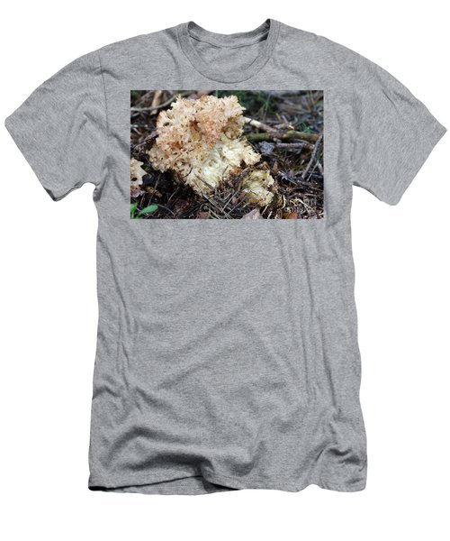 Cauliflower Fungus Men's T-Shirt (Slim Fit) by Michal Boubin