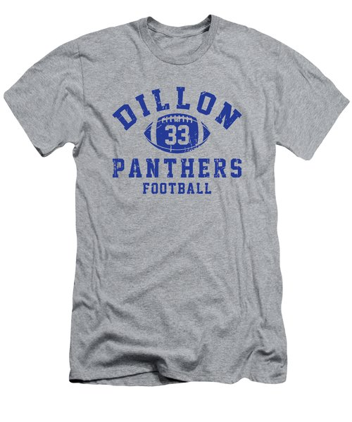Dillon Panthers Football 2 Men's T-Shirt (Slim Fit) by Pendi Kere