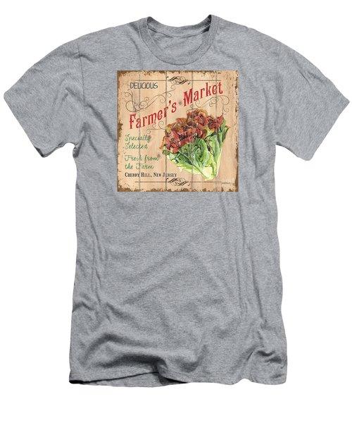 Farmer's Market Sign Men's T-Shirt (Slim Fit) by Debbie DeWitt