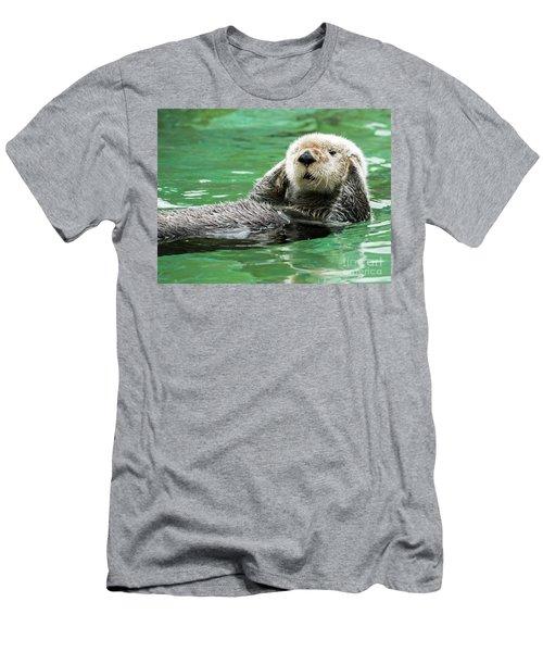 Hear No Evil Men's T-Shirt (Slim Fit) by Mike Dawson
