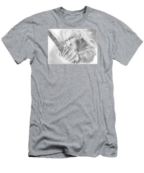 Legolas Greenleaf Men's T-Shirt (Slim Fit) by Bitten Kari
