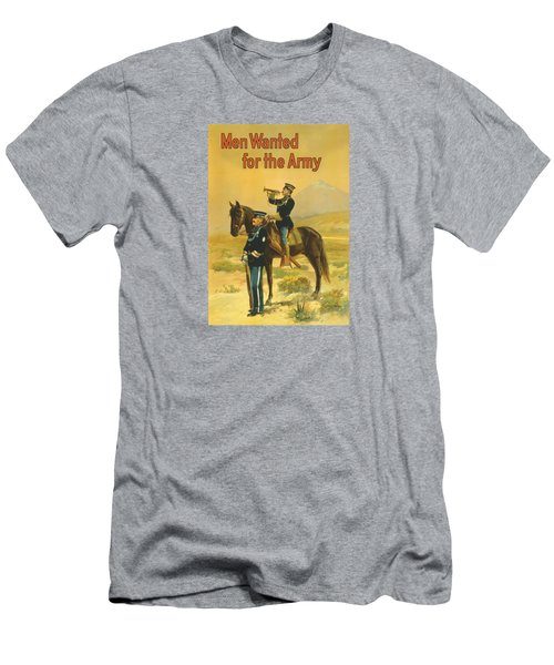 Men Wanted For The Army Men's T-Shirt (Slim Fit) by War Is Hell Store