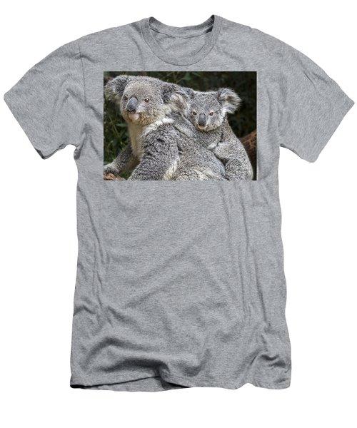 Mommy Hugs Men's T-Shirt (Slim Fit) by Jamie Pham