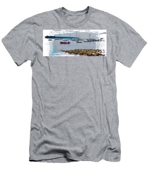 Moorings Mug Shot Men's T-Shirt (Slim Fit) by John M Bailey