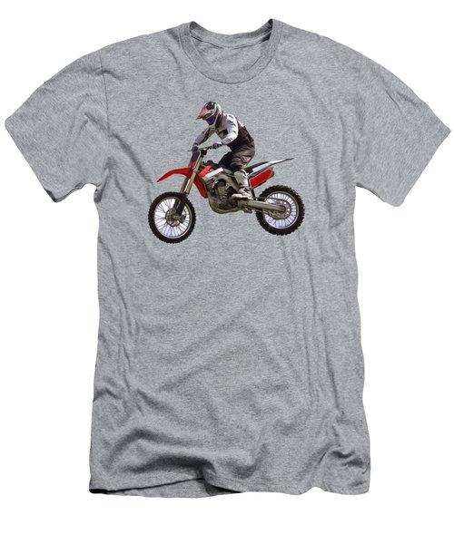 Motocross Men's T-Shirt (Slim Fit) by Scott Carruthers