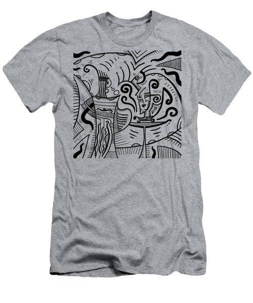 Mystical Powers Men's T-Shirt (Slim Fit) by Erki Schotter
