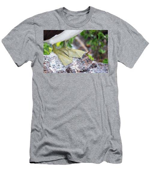 Nazca Booby Feet Men's T-Shirt (Slim Fit) by Jess Kraft