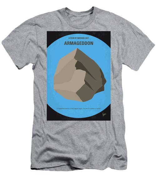 No695 My Armageddon Minimal Movie Poster Men's T-Shirt (Slim Fit) by Chungkong Art