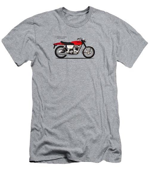 Norton Commando Fastback Men's T-Shirt (Slim Fit) by Mark Rogan