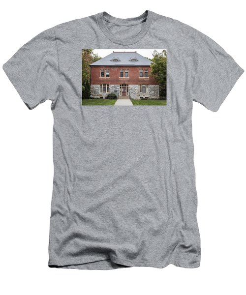 Old Botany Building Penn State  Men's T-Shirt (Slim Fit) by John McGraw