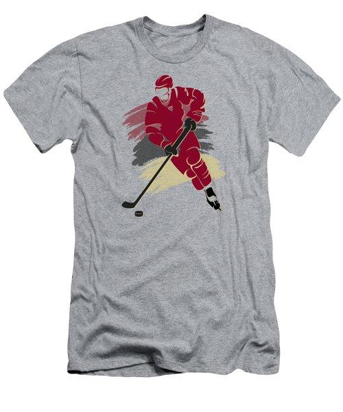 Phoenix Coyotes Player Shirt Men's T-Shirt (Slim Fit) by Joe Hamilton