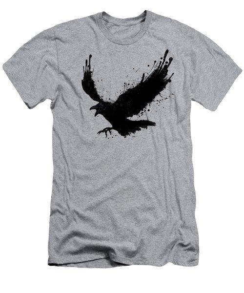 Raven Men's T-Shirt (Slim Fit) by Nicklas Gustafsson