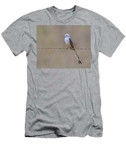 Scissor-tailed Flycatcher Men's T-Shirt (Slim Fit) by Tony Beck