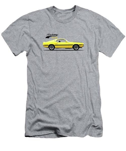 Shelby Mustang Gt350 1969 Men's T-Shirt (Slim Fit) by Mark Rogan