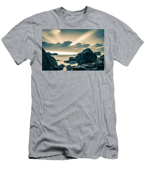 Men's T-Shirt (Slim Fit) featuring the photograph Silver Moment by Thierry Bouriat