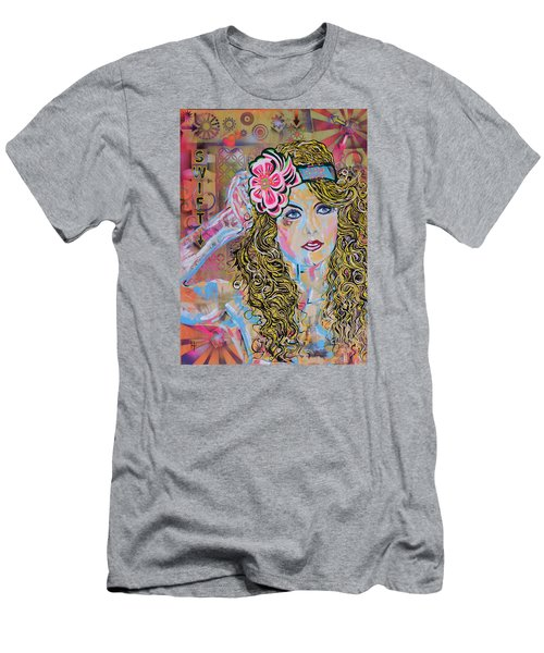 Swift Men's T-Shirt (Slim Fit) by Heather Wilkerson