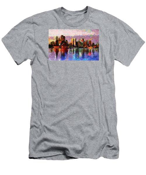 Sydney Here I Come Men's T-Shirt (Slim Fit) by Sir Josef Social Critic - ART