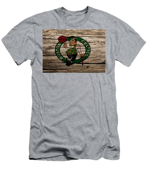 The Boston Celtics W1 Men's T-Shirt (Slim Fit) by Brian Reaves