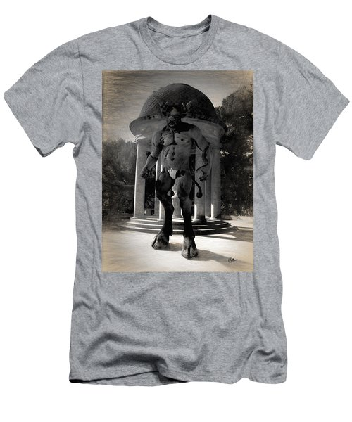 The Monster Maze Men's T-Shirt (Slim Fit) by Joaquin Abella