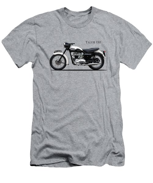 Triumph Tiger 1959 Men's T-Shirt (Slim Fit) by Mark Rogan