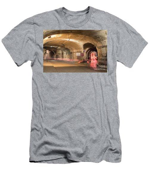 Underground Tunnels In Guanajuato, Mexico Men's T-Shirt (Slim Fit) by Juli Scalzi