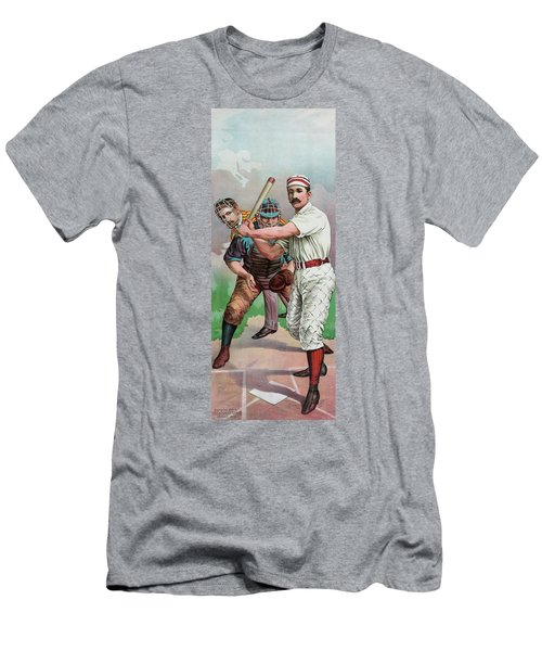 Vintage Baseball Card Men's T-Shirt (Slim Fit) by American School