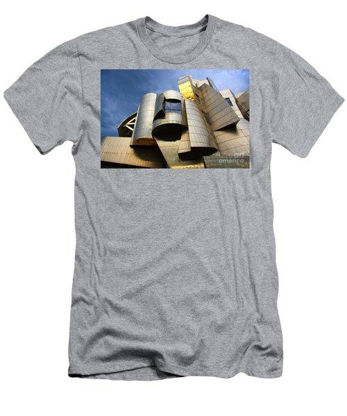 Weisman Art Museum University Of Minnesota Men's T-Shirt (Slim Fit) by Wayne Moran