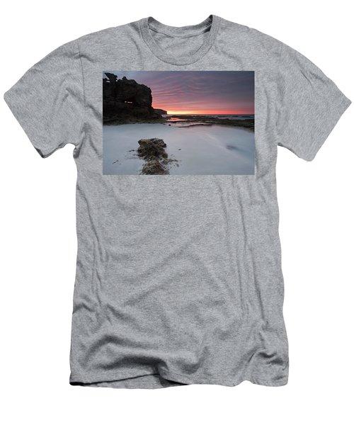 Window On Dawn Men's T-Shirt (Slim Fit) by Mike  Dawson